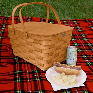 Oversized Picnic Basket