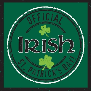 Officially Irish Beverage Napkins