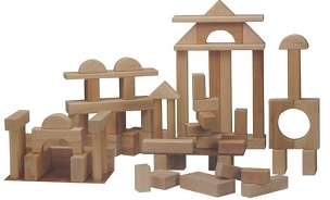 Deluxe Block Set - 68 pcs
