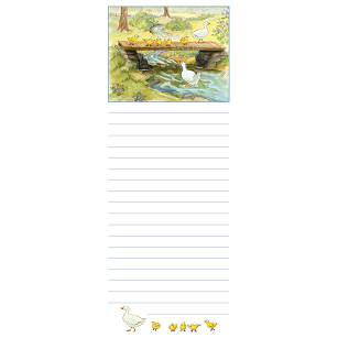 First Swim in Brook Magnetic Notepad