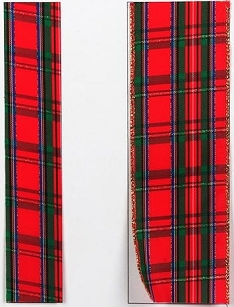 Regalia Plaid Ribbon-1 7/8
