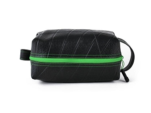 Mini Travel Bag / Dopp Kit Lime