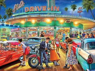 American Drive-In 1000 Piece