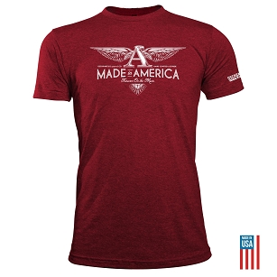 American Made Wings Tee
