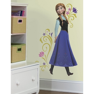 Frozen Anna Giant Wall Decals