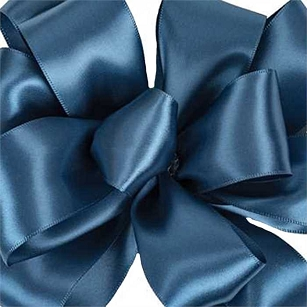 Azurite Double Face Satin Ribbon