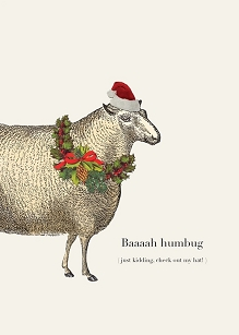 Sheep Christmas