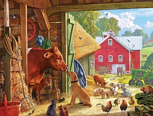 Barnyard Buddies 550 Piece