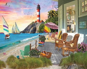Beach Vacation 1000 Pc. Jigsaw Puzzle