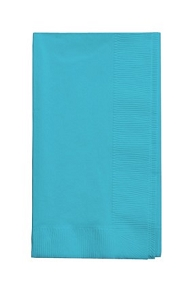 Bermuda Blue Dinner Paper Napkins