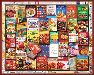 Betty Crocker Cookbook 1000 piece