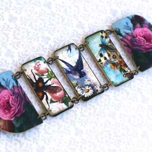 Bee Bird Butterfly Bracelet