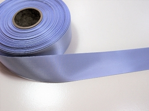 Blue Iris Single Face Satin Ribbon