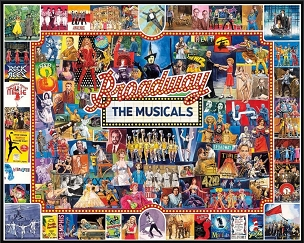 Broadway Puzzle 1000  Pc. Jigsaw Puzzle