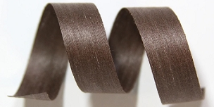 Brown Solid Cotton Curling Ribbon