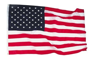 U.S. Cotton Flag-3' x 5'