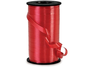 Curling Ribbon Lava Red