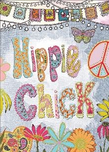 Hippie Chick Birthday