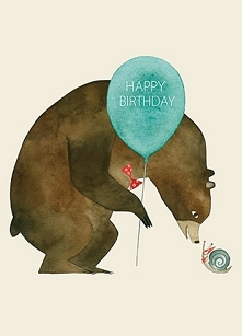 Bear & Snail Belated