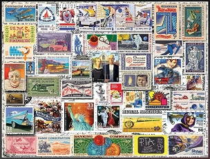 Classic Stamps 550 piece