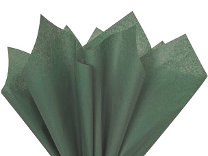 Tissue Paper Forest Green