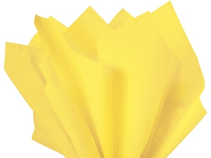 Tissue Paper Light Yellow