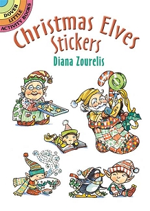 Christmas Elves Stickers