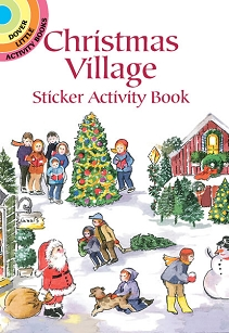 Christmas Village Sticker Book