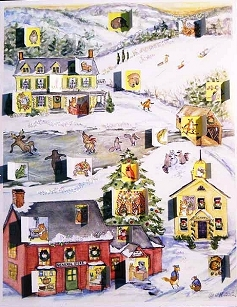 Country Advent Calendar