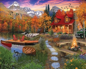 Cozy Cabin 1000 Piece