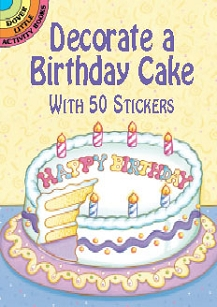 Decorate a Birthday Cake Stickers