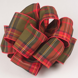 Designer Plaid Ribbon-6