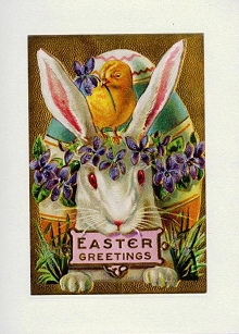 Beautiful Bunny Easter Greetings