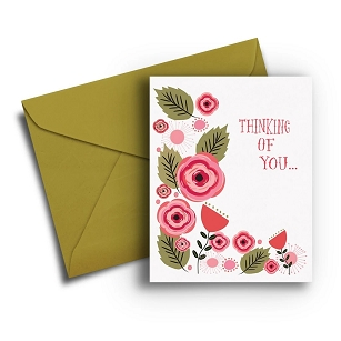 Flower Get Well Card