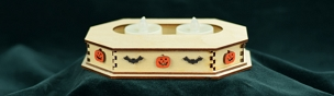 Ginger Cottage Lg Spooky Tealight Display