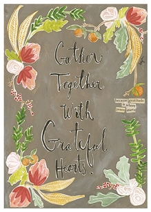 Gather Together Greeting Card