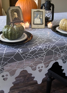Ghost White Table Topper