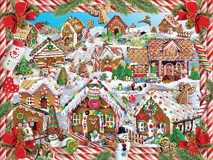 Gingerbread Village 1000 Piece