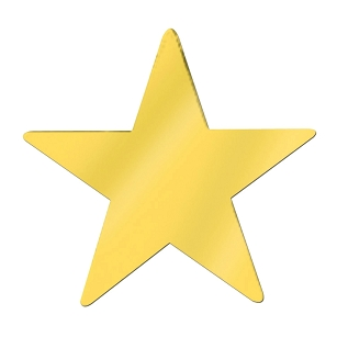 Gold Star Cutout