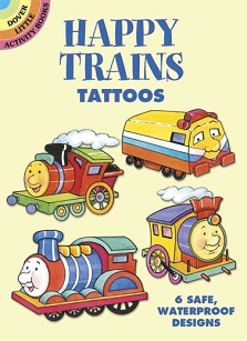 Happy Trains Tattoos