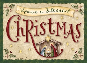 Have a Blessed Christmas Boxed Cards