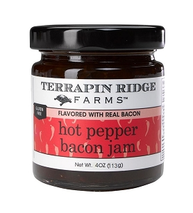 Hot Pepper Bacon Jam - 4oz Jar