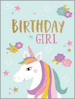 Unicorn Birthday Girl