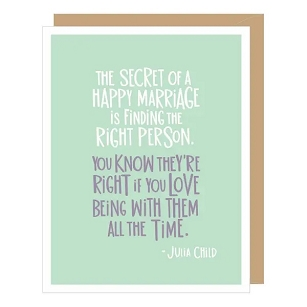 Julia Child Happy Marriage