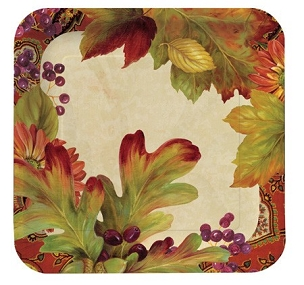 Leaves N' Berries Dinner Plates