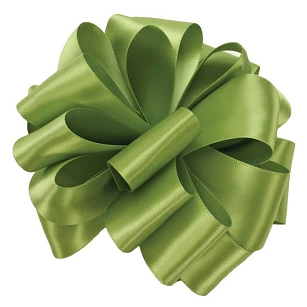 Lemon Grass Double Face Satin Ribbon