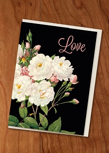 Love Roses Gift Enclosure Card