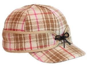 Ida Kromer Mapleberry Plaid Cap