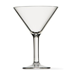 Clarus Acrylic Martini Glass