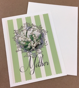 Mother's Day Lily of the Valley Card